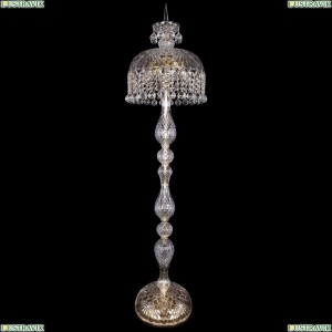 5877/35-150/G/Balls Хрустальный торшер с большим хрустальным абажуром Bohemia Ivele Crystal (Богемия)