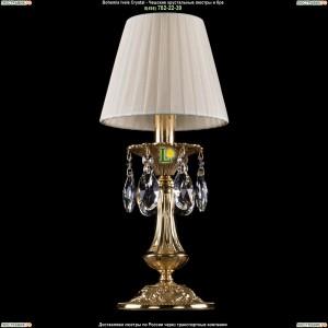 7001/1-30/GD/SH3 Хрустальная настольная лампа  Bohemia Ivele Crystal (Богемия)