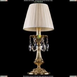 7001/1-30/GD/SH33 Хрустальная настольная лампа  Bohemia Ivele Crystal (Богемия)