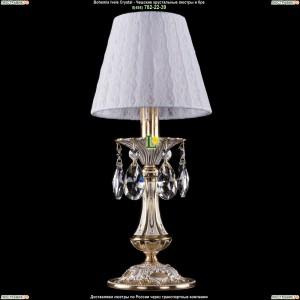 7001/1-30/GW/SH13 Хрустальная настольная лампа  Bohemia Ivele Crystal (Богемия)