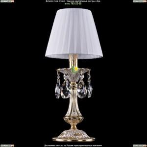 7001/1-30/GW/SH2 Хрустальная настольная лампа  Bohemia Ivele Crystal (Богемия)