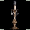 7003/1-33/FP Хрустальная настольная лампа Bohemia Ivele Crystal (Богемия)