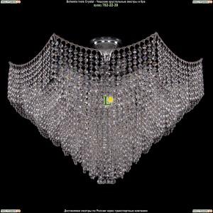 7707/15/Ni Хрустальная подвесная люстра Bohemia Ivele Crystal (Богемия)