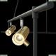 MOD128PL-12GB Подвесной светильник с поворотными плафонами Maytoni (Майтони), Rami