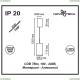 357883 Подвесной светодиодный светильник Novotech (Новотех), Tubo