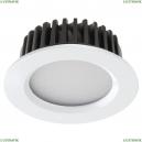 357907 Встраиваемый светодиодный светильник Novotech (Новотех), Drum