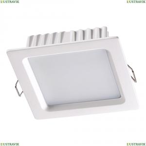 358033 Встраиваемый светодиодный светильник Novotech (Новотех), Luna