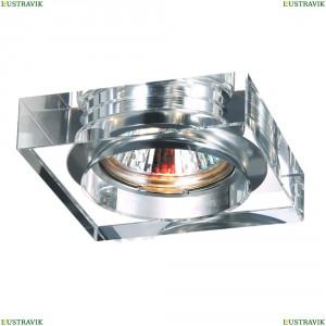 369482 Встраиваемый светильник Novotech (Новотех), Glass