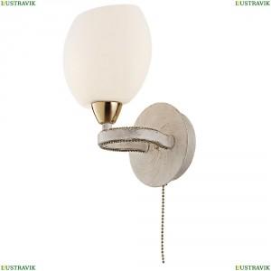 CL131313 Бра с выключателем Белый+Золото CITILUX (Ситилюкс) Октава