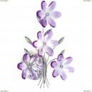 5147 Бра Globo Purple, 1 лампа, фиолетовый, хром