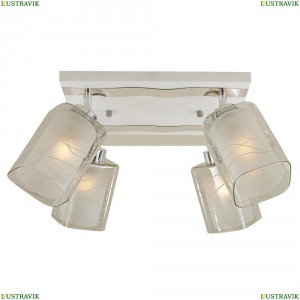 CL160141 Люстра потолочная Белый+Хром CITILUX (Ситилюкс) Прима