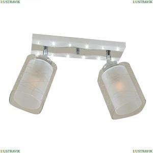 CL160221 Люстра потолочная со светодиодной подсветкой Белый+Хром CITILUX (Ситилюкс) Прима