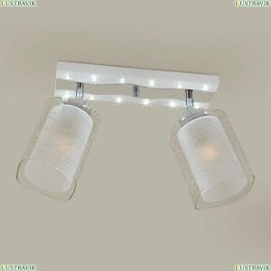 CL160223 Люстра потолочная со светодиодной подсветкой Никель+Хром CITILUX (Ситилюкс) Прима