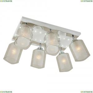 CL160261 Люстра потолочная со светодиодной подсветкой Белый+Хром CITILUX (Ситилюкс) Прима
