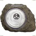 3302 Светильник уличный светодиодный на солнечных батареях Globo solare серый под камень