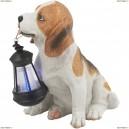 33371 Светильник уличный светодиодный на солнечных батареях Globo solare собака с фонариком