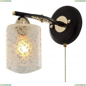 CL166311 Бра с выключателем Черный+Золото CITILUX (Ситилюкс) Мотив