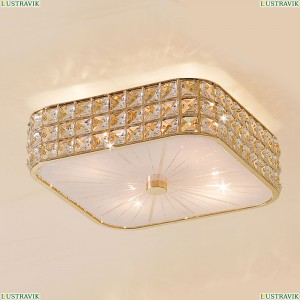 CL324242 Люстра потолочная хрустальная Золото CITILUX (Ситилюкс) Портал