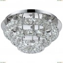 67047-44R Люстра потолочная светодиодная хрустальная Globo Marilyn, 1 светодиод, хром
