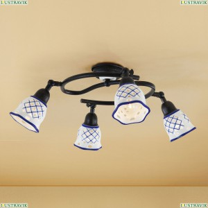 CL534541 Люстра потолочная Синий CITILUX (Ситилюкс) Ажур