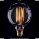 VG6-G95A1-60W Voltega Loft Дизайнерская лампа накаливания, винтажная шар G95 60W Е27 янтарь нити