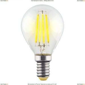 7021 ( VG10-G1E14warm6W-F ) Voltega (Вольтега) Лампа светодиодная филаментная E14 6W 2800К, Шар