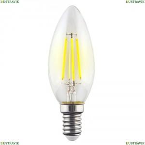 7096 (VG10-C1E14warm9W-F) Лампа светодиодная филаментная филаментная E14 9W 2800К прозрачная Voltega (Вольтега), Crystal