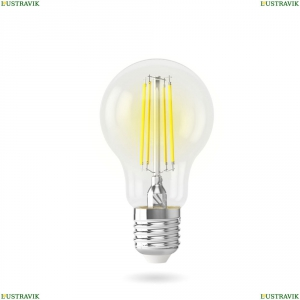 7140 (VG10-A60E27warm7W-F) Светодиодная лампа, ЛОН Е27 2800К 7W Voltega (Вольтега), Crystal