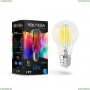 7155 Лампа светодиодная филаментная E27 7W 4000K Voltega (Вольтега), Crystal