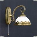 A 7950/1 Бра Reccagni Angelo, 1 плафон, бронза