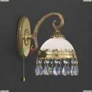 A 7961/1 Бра Reccagni Angelo, 1 плафон, французское золото