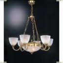 L 4700/6+2 Люстра подвесная Reccagni Angelo, 8 ламп, французское золото