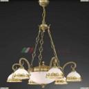 L 7950/6+2 Люстра подвесная Reccagni Angelo, 8 ламп, бронза