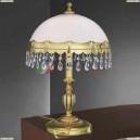 P 7961 G Настольная лампа Reccagni Angelo, 2 лампы, французское золото