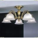 PL.2720/5 Люстра потолочная Reccagni Angelo, 5 плафонов, бронза