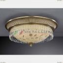 PL 6206/4 Потолочный накладной светильник Reccagni Angelo