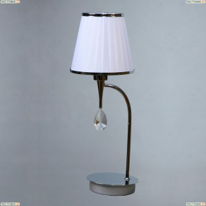 MA 01625T/001 Chrome Настольная лампа Brizzi (Бризи), Alora