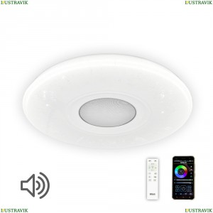 CL703M50A Потолочный светодиодный светильник с пультом ДУ CITILUX (Ситилюкс), СтарЛайт
