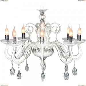 OML-34403-08 Люстра подвесная Omnilux, 8 ламп, хром (Омнилюкс)