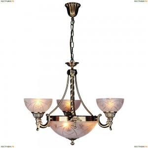 OML-35023-06 Люстра подвесная Omnilux, 6 ламп, античная бронза (Омнилюкс)
