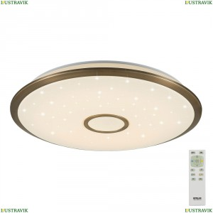 CL703103R Потолочная светодиодная люстра с пультом ДУ Citilux (Ситилюкс), Старлайт R