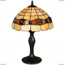 OML-80504-01 Настольная лампа Omnilux тиффани, 1 лампа, бронза (Омнилюкс)