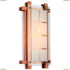 OML-40511-02 Светильник прямоугольный настенно-потолочный Omnilux, 2 лампы, сосна (Омнилюкс)