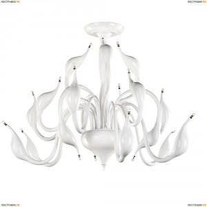 751186 Люстра потолочная Lightstar Cigno Collo, 18 ламп, белый