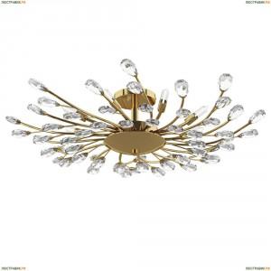 791182 Люстра потолочная Lightstar Isabelle, 8 ламп, золото