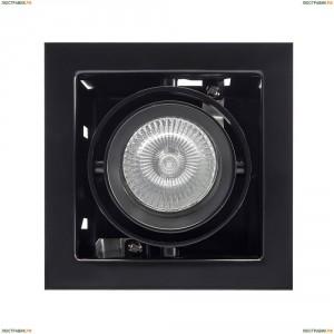 214018 Встраиваемый светильник Lightstar (Лайтстар), Cardano 16 черный