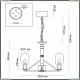 4700/6 Подвесная люстра Odeon Light (Одеон Лайт), Grif