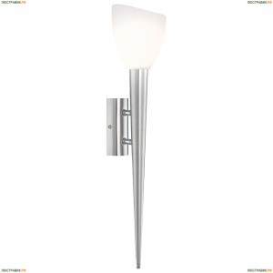 4410-1W Бра Globo Siena, 1 плафон, никель, белый