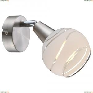 54341-1 Спот светодиодный Globo Elliott, 1 плафон, никель, белый