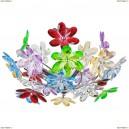 51530-3 Люстра потолочная Globo Raibow, 3 лампы, хром, разноцветный